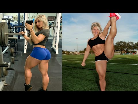 FEMALES BODYBUILDING,- CARRIEJUNE ANNE, IFBB MUSCLE, WORKOUT,