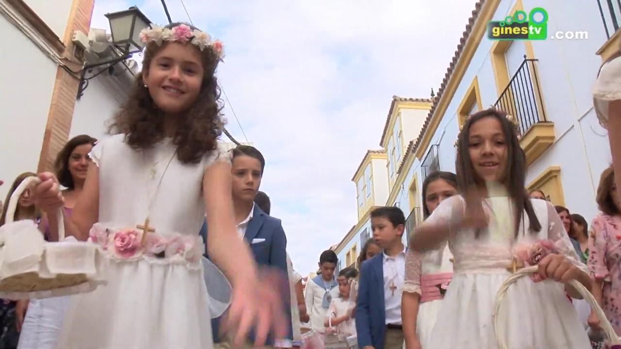 Procesión del Corpus Christi 2019 en Gines (COMPLETO)