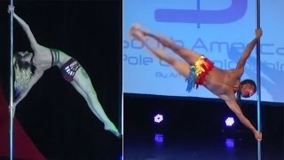 Watch | Pole dancing championship held in Buenos Aires