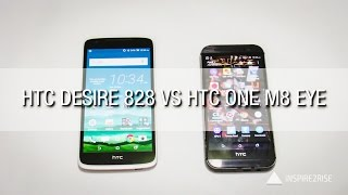 HTC Desire 828 VS HTC One M8 Eye comparison review