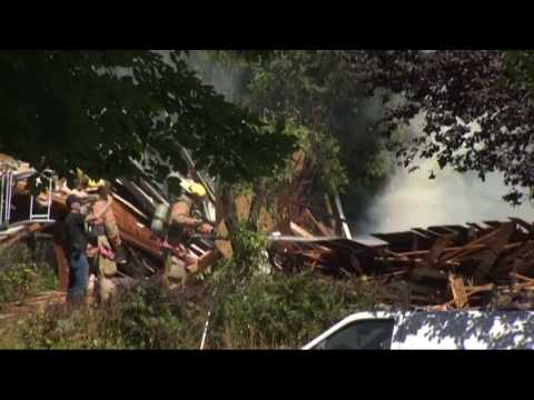House explosion in North Portland