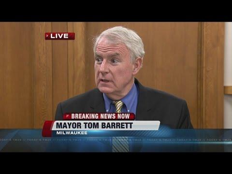 Mayor Tom Barrett Addresses Recent Rash Of Violence In Milwaukee