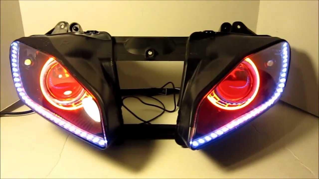 20062013 yamaha r6 hid projector headlights bixenon dual