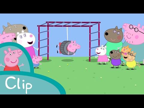 Peppa Pig Français | Coincé dans un pneu