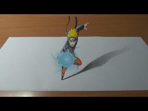 Speed Drawing Anime Naruto Uzumaki / Рисую Аниме Наруто Узумаки / アニメうずまきナルトドローイング /(Art & Drawings)