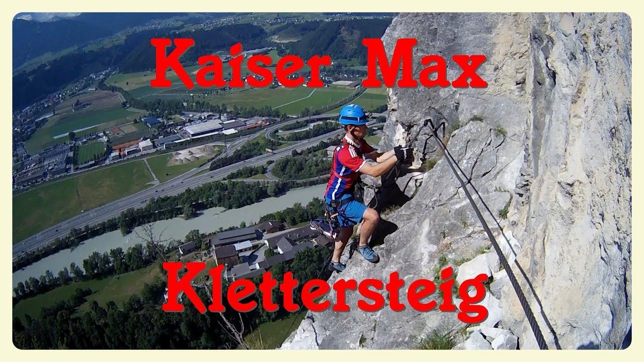 Kaiser Max Klettersteig : Kaiser max klettersteig martinswand youtube