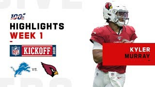 Kyler Murray Forces OT in NFL Debut | NFL 2019 Highlights