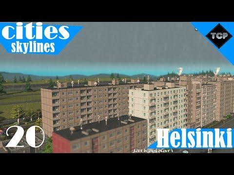 Cities: Skylines   Helsinki - Osa 20   Puistoja ja lisää asuinrakennuksia!