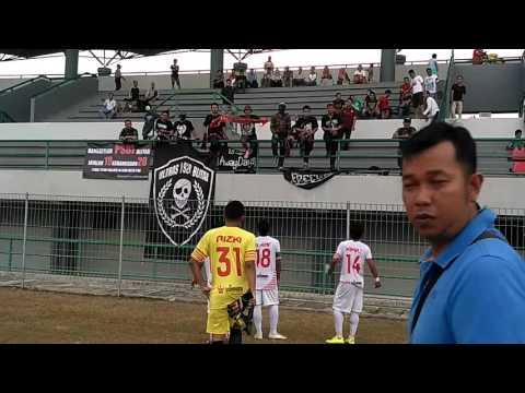 PSBI vs Martapura FC akhir pertandingan (Anthem)