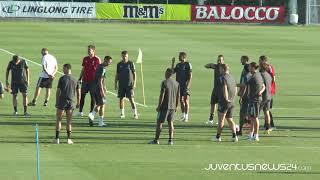 Allenamento Juve: bianconeri in campo verso il Lione - YouTube