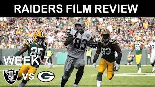Raiders Film Review: Week 7 vs Packers