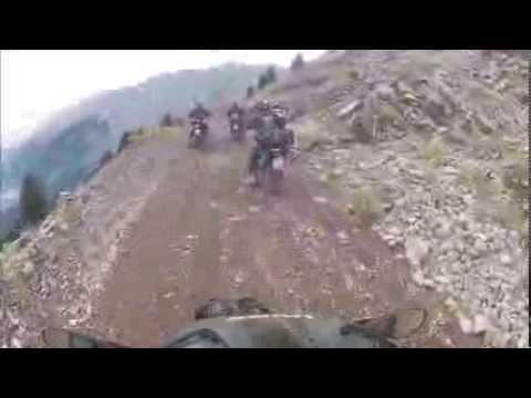 F 800 GS Dirt Ride - Mountain Giona Greece