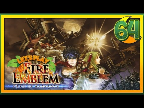 Let's Play Fire Emblem Path of Radiance - Mist Carries the Team - 64