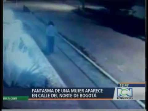 woman ghost caught on security camera  in BOGOTA