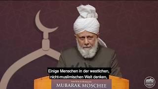 Auszug aus Rede Seiner Heiligkeit | Kalif in Deutschland (1)