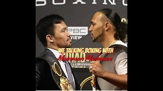 [ WE TALKING BOXING LIVE ] Thurman wants to crucify PACQUIAO and MORE..... thumbnail