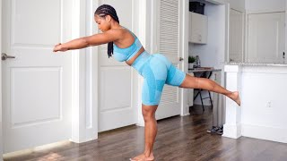 9 Min. Fat Burning Morning Routine| No Jumping| No Equipment Needed