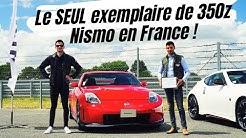 À 19 ans, Il a le seul exemplaire de Nissan 350z Nismo en France !