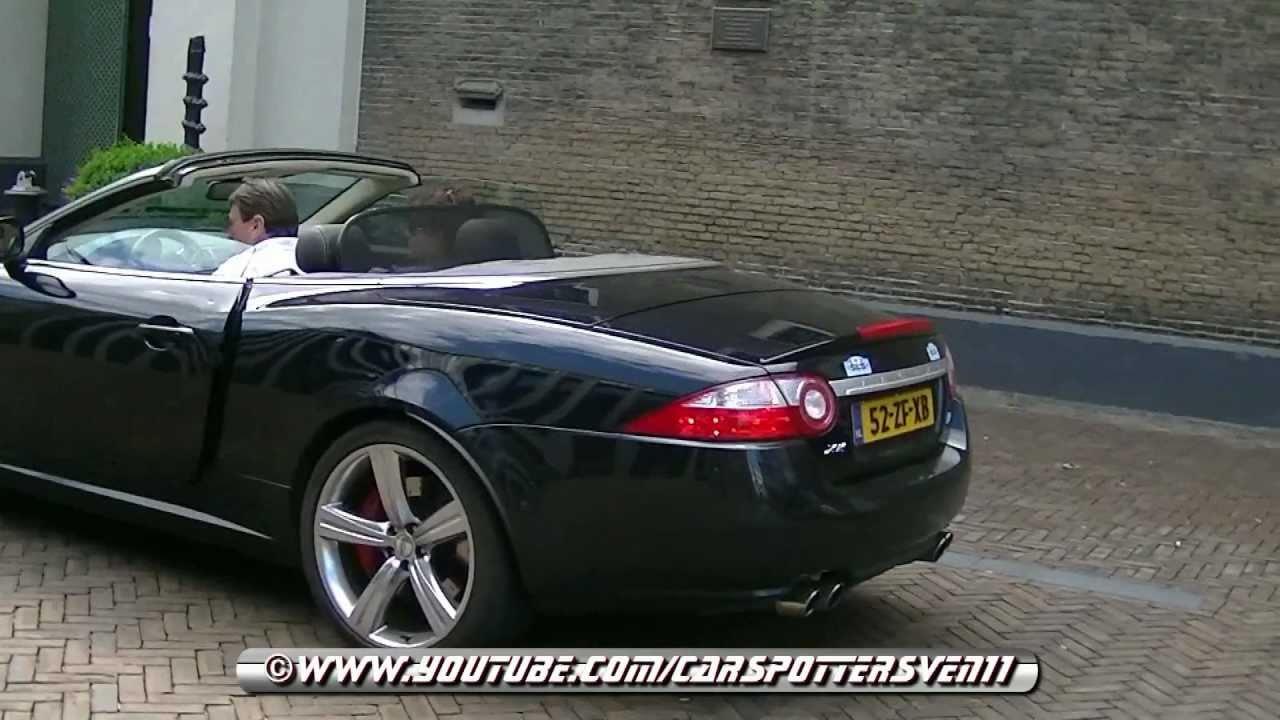 Jaguar Xkr Portfolio Convertible With Loud Revs And Exhaust Acceleration Sounds Hd