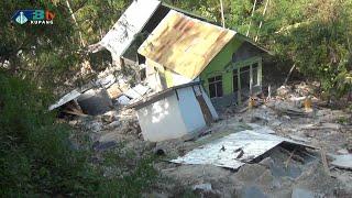 14 Rumah di Amarasi Barat Tertimbun Longsor - Kabupaten Kupang