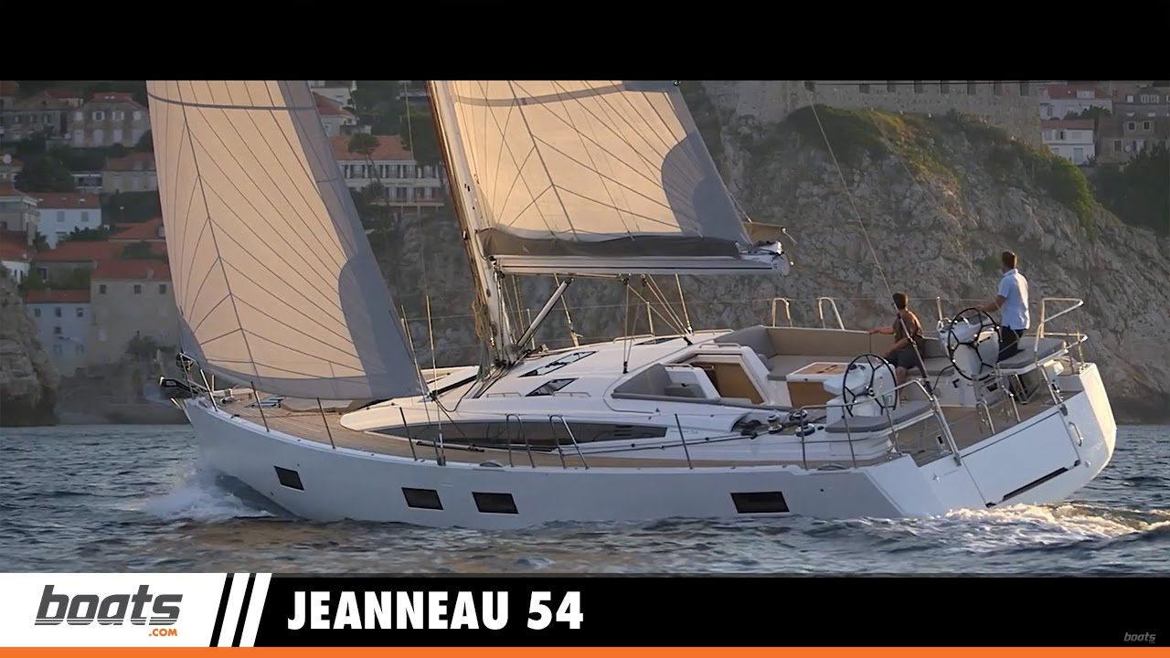 Jeanneau 54: First Look Video - boats com