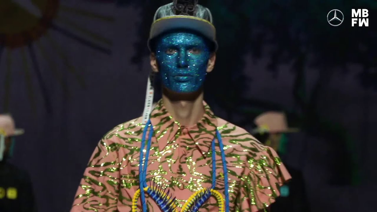VIDEO: Tom van der Borght at Mercedes-Benz Fashion Week Berlin