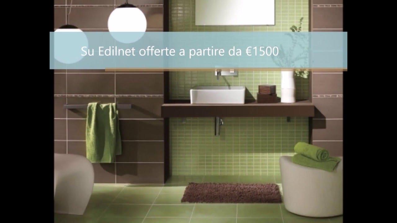 Costo Ristrutturazione Totale Bagno - Edilnet.it - YouTube