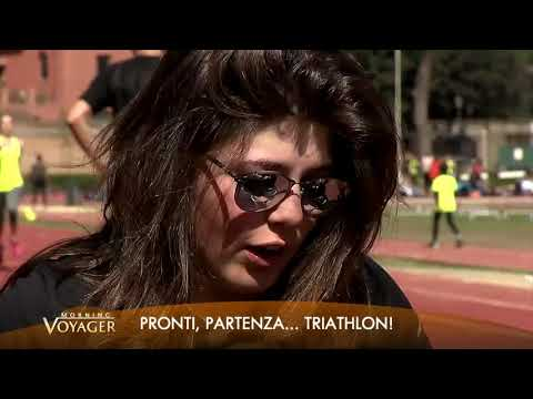 Triathlon su Morning Voyager con Chiara Vellucci