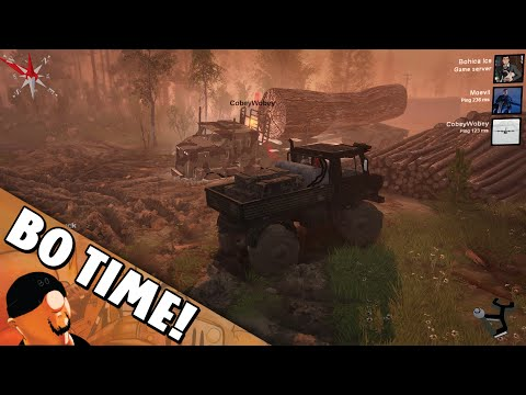 Spintires - Cobey's Giant And Probably Endangered Tree |