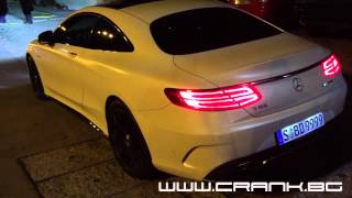 Mercedes S63 AMG Coupe Akrapovic Evolution Line Sound
