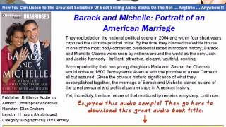 Barack And Michelle *Portrait Of An American Marriage Audio Book*18th October 1992.