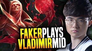Faker Vladimir is Insane! - SKT T1 Faker SoloQ Playing Vladimir Midlane!   SKT T1 Replays thumbnail