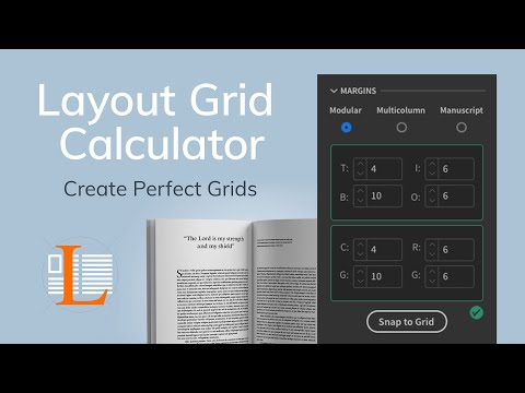 Setting up Baseline Grid - Layout Grid Calculator Plugin for Adobe InDesign