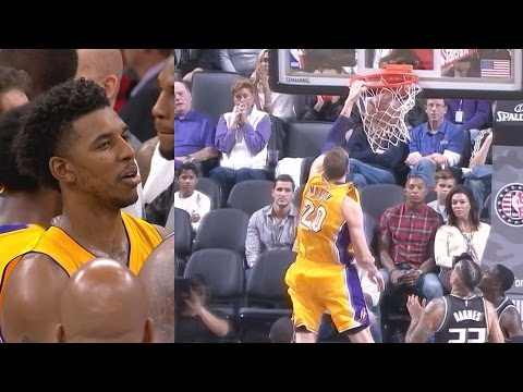 Lakers Comeback Down 19! Los Angeles Lakers vs Sacramento Kings 11-10-2016