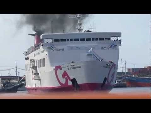 2GO Travel M/V Saint Thomas Aquinas Docking Maneuver