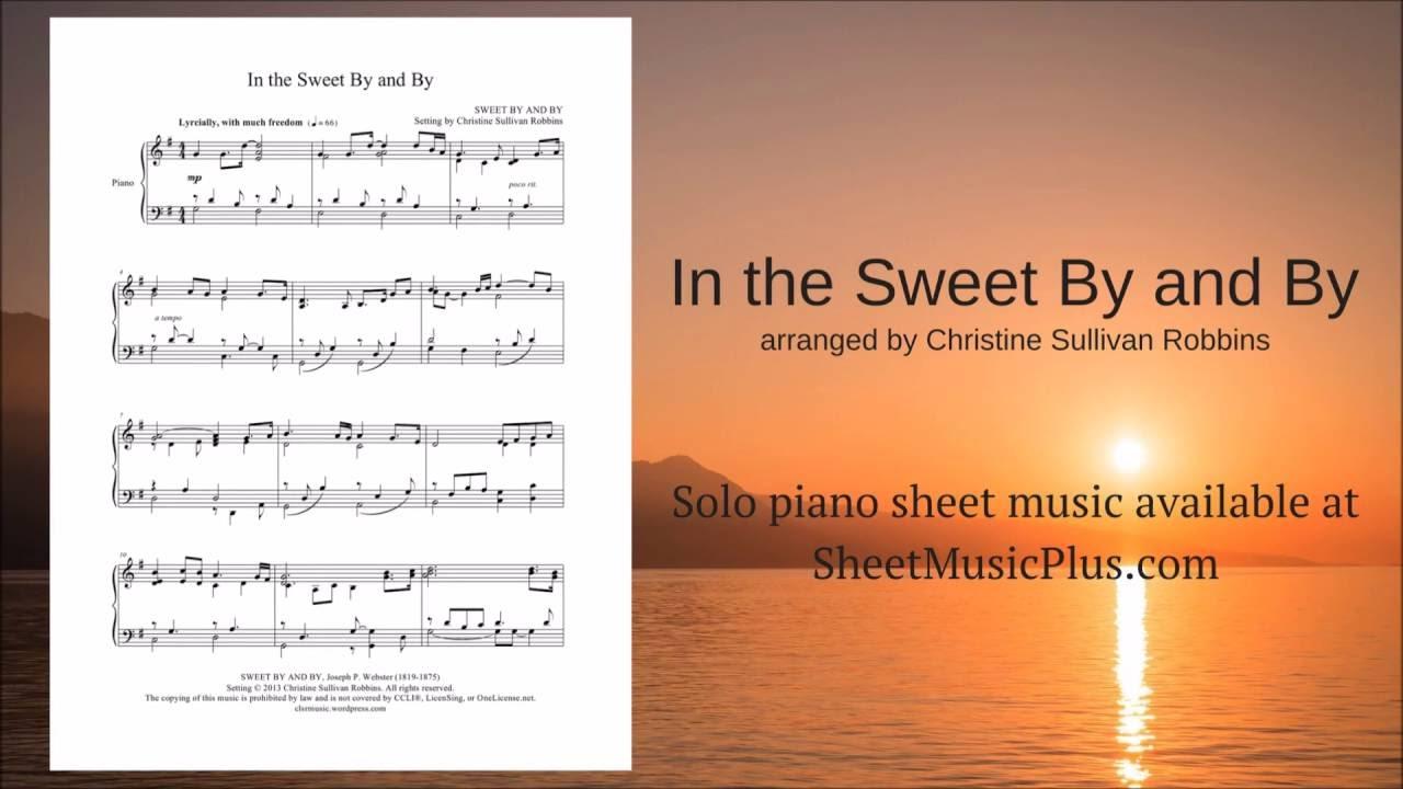 sweet sheet piano