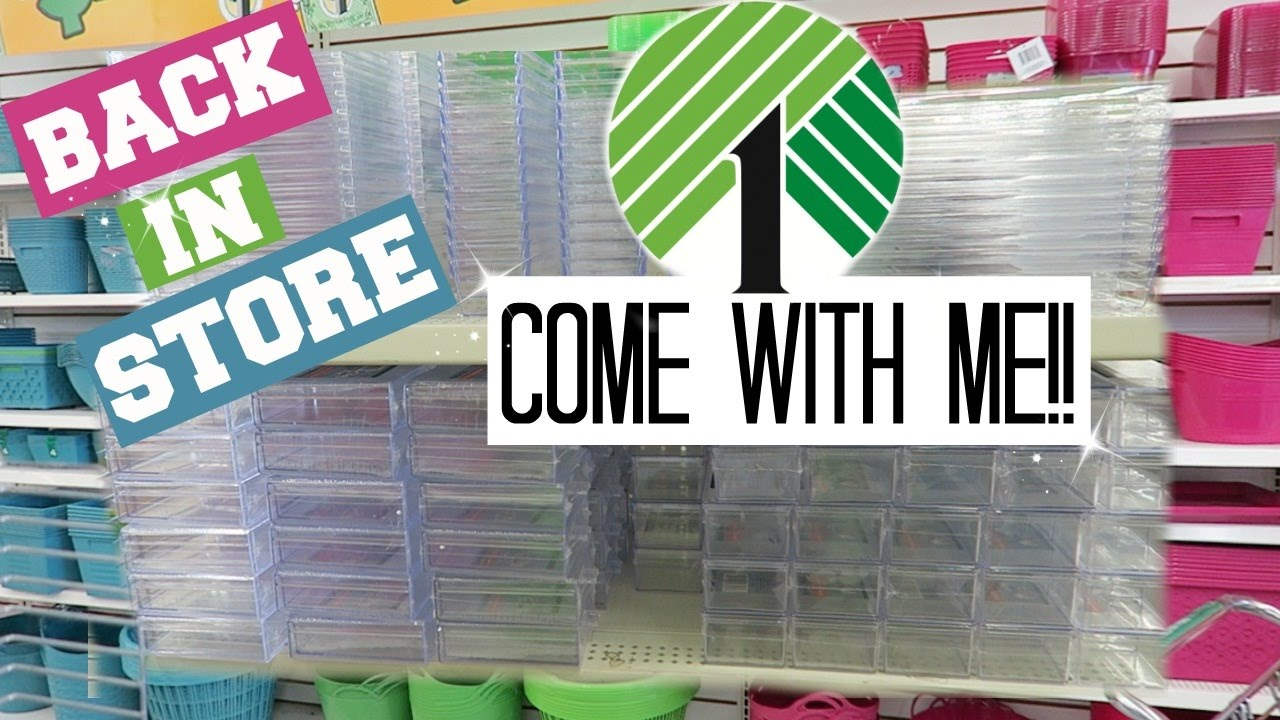 Dollar tree - Dollar Tree Makeup Containers Come With Me