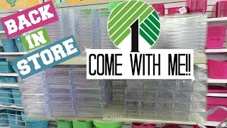 Dollar Tree Makeup Containers - Come with Me!