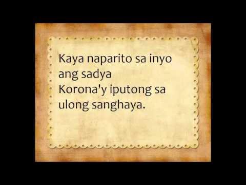 Putong - Marinduque Lyrics