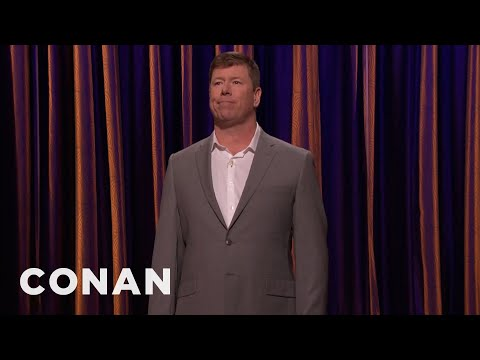 Jimmy Dunn's Alternate Use For His GoreTex Jacket   CONAN on TBS