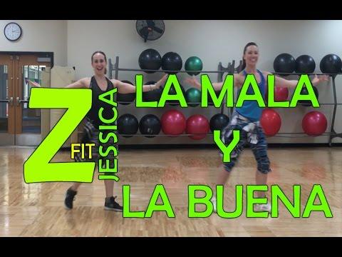 Zumba La Mala Y La Buena - Salsa || ZumbaFitJessica