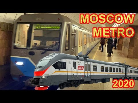 A Few Frames Straight From The Moscow Metro - 2020