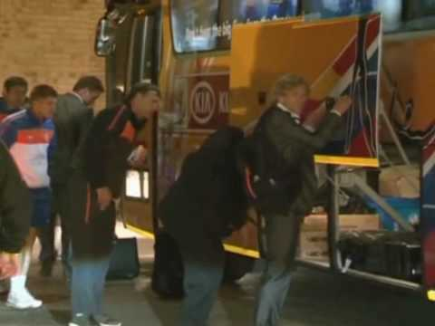 FIFA World Cup 2010 - Defeated Dutch return to hotel
