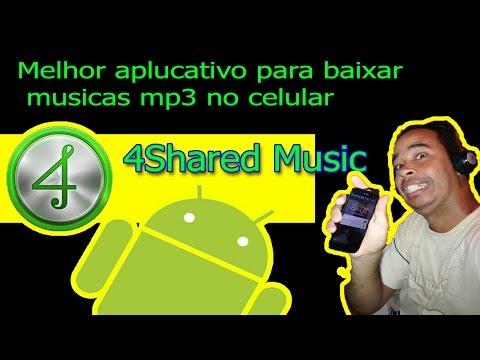 Aplicativo para baixar musicas, mp3 no celular