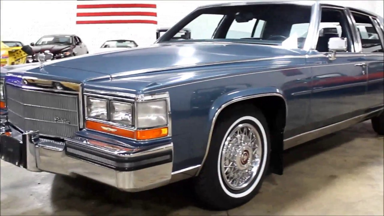 1986 cadillac fleetwood youtube 1986 cadillac fleetwood
