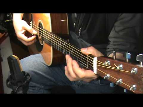 surfergirl -beachboys-acoustic -fingerstyle-chords