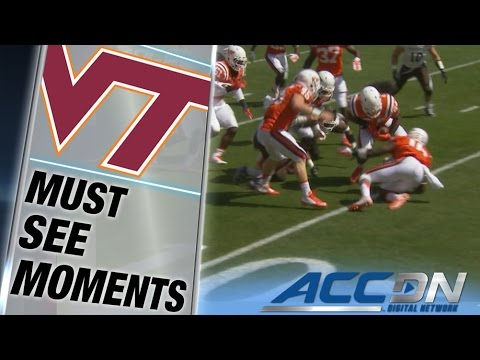 Virginia Tech's Andrew Motuapuaka Scoop & Score in First 8 Seconds of Game | ACC Must See Moment