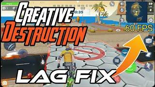 Creative Destruction Lag Fix || How to Fix Lags On Creative Destruction || No Lags Smooth Gameplay
