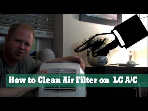 How to Clean Air Filters LG Air Conditioner