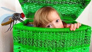 Alena and mom beware of insects and funny stories for children by Chiko TV